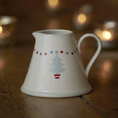Grey Christmas Trees Mini Pitcher