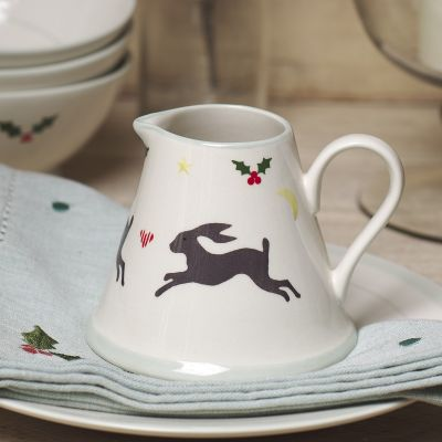 Christmas Hares Mini Pitcher