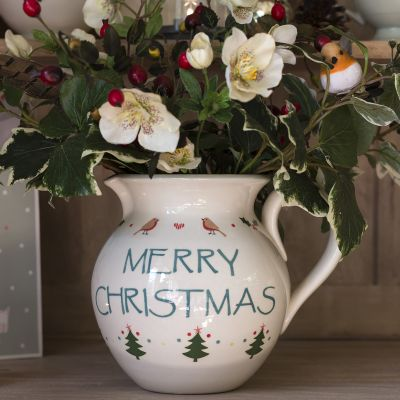 Christmas Medium Round Jug