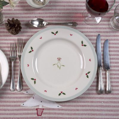 Christmas Holly Dinner Plate