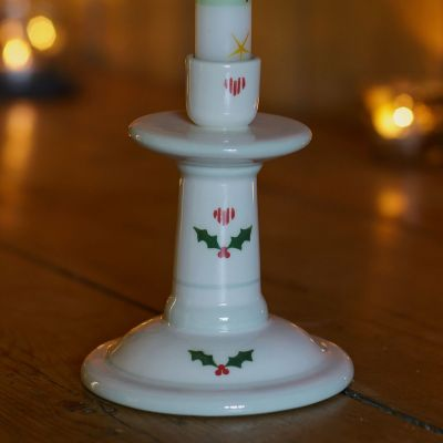 Small Candlestick - Christmas