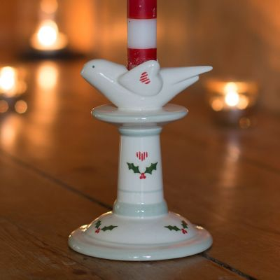 Small Bird Candlestick - Christmas