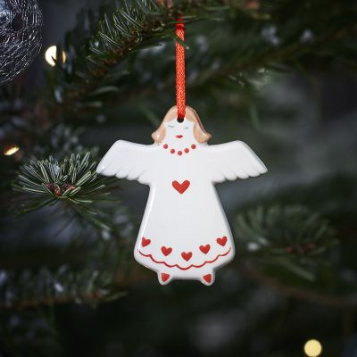 Heart Angel Christmas Decoration