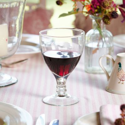 Hand-blown Red Wine Glass