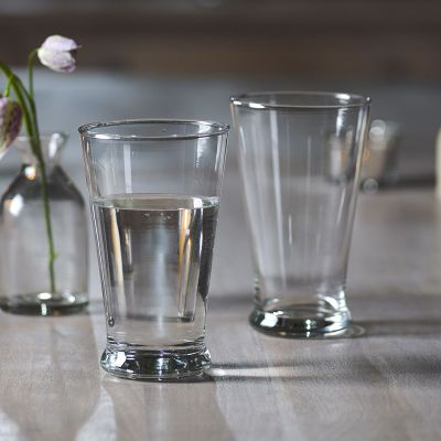 Handblown Large Tumbler - Clear