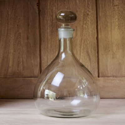 Clear Glass Carafe with stopper