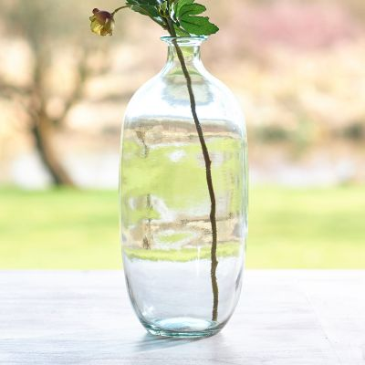Large Clear Vase