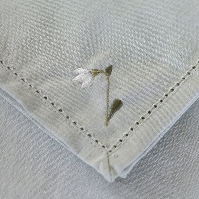 Snowdrop Duckegg Cotton Napkin - Pack of 4