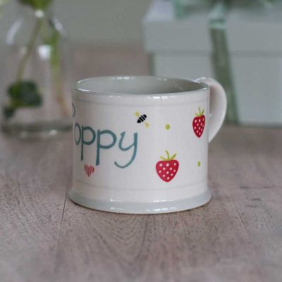 Personalised Strawberry Small Mug