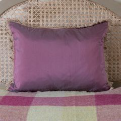 Silk Cushion - Blackberry