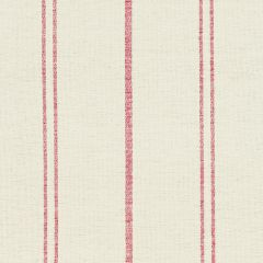 Ivory Red Vintage Stripe Cotton – Double Width – 209a