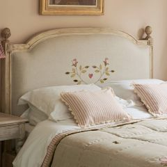 Olive tree Upholstered Bedhead
