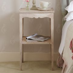Caned Side Table