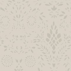 Linen Grey Maja Wallpaper