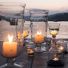 Glassware & Candles