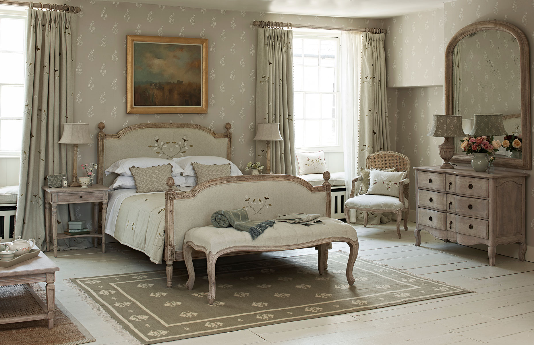 Dove Grey Bedroom