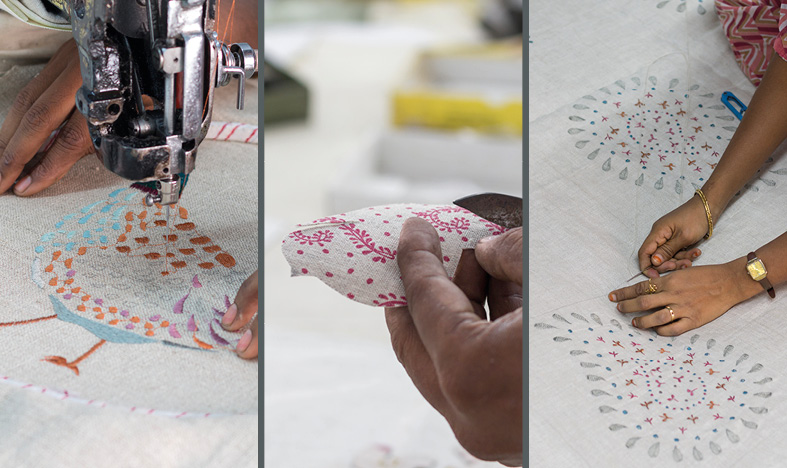 Beautiful Embroidered Textiles
