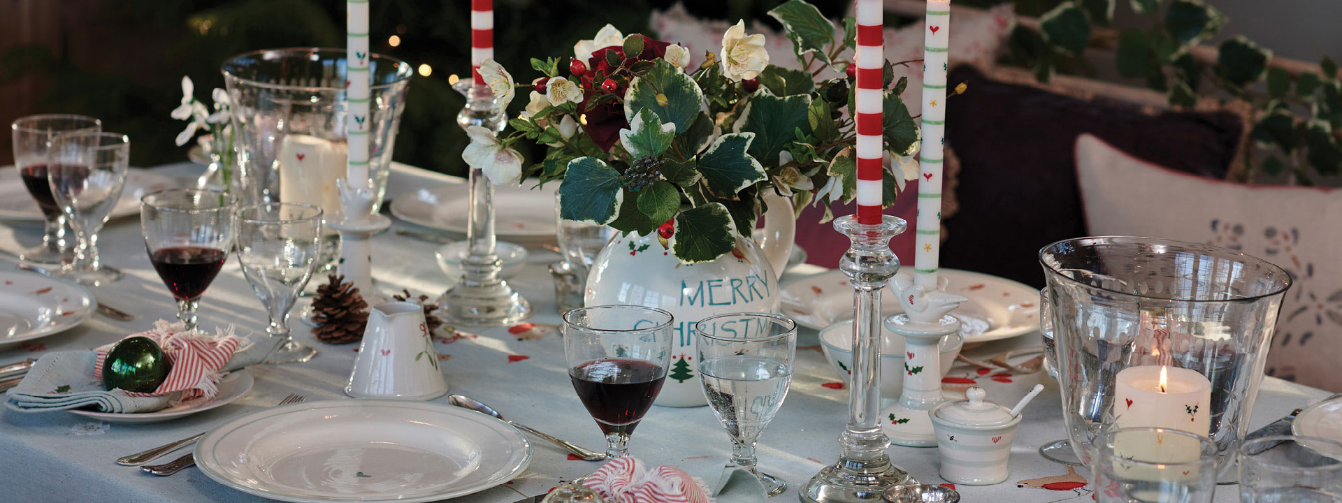 Christmas Table Decoration Day