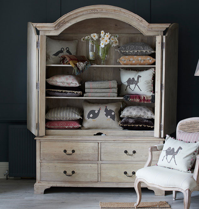 Charcoal Armoire