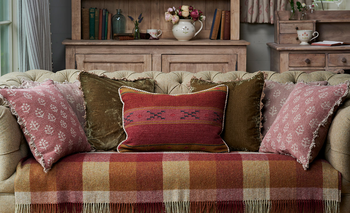 Indian Stripe Cushions