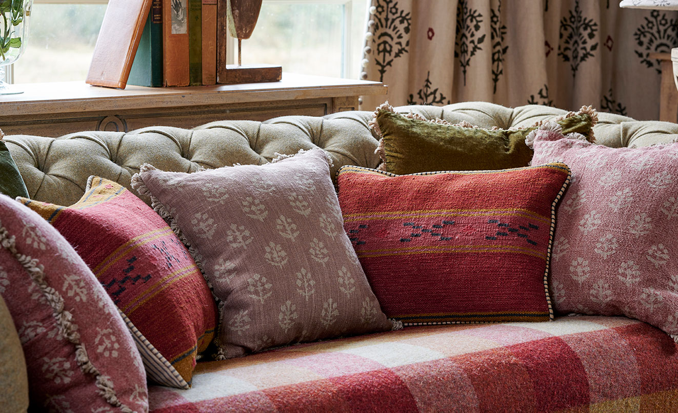 Stripes & Plains Cushions